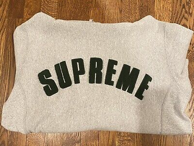 $ CDN229.09 • Buy Supreme Chenille Arc Logo Hoodie S/S17 Size Large