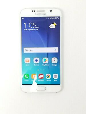 $ CDN8.55 • Buy Samsung Galaxy S6 - 32GB - White (Unlocked) - Fair Condition