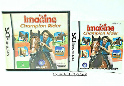 IMAGINE Champion Rider Nintendo DS - CASE AND MANUAL ONLY No Game • 3.05£