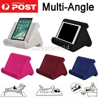 AU19.50 • Buy Tablet Pillow Stand For IPad Phone Reading Bracket Holder Cushion Pad Portable I
