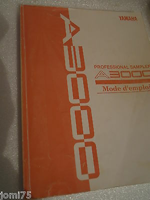 AU15.81 • Buy Yamaha A-3000 A3000 Manual French Manual User Original Very Good Condition