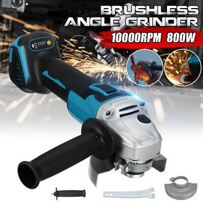 125mm Brushless Cordless Electric Angle Grinder Polisher DIY Woodworking Tools • 26.89£