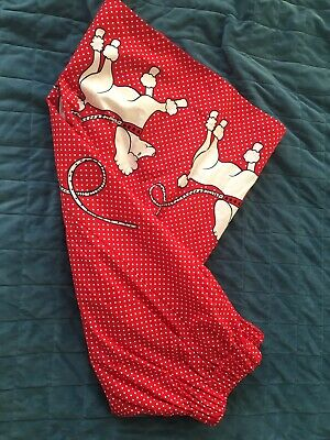 A Line Skirt - Polka Dot - Poodles - French - Small • 10£