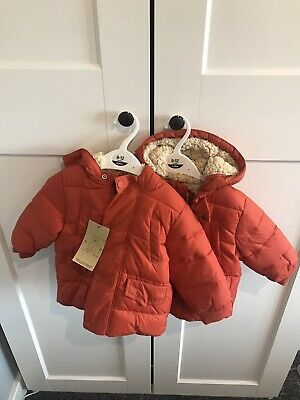 Twin Boys Coats 9-12 Month  • 5£