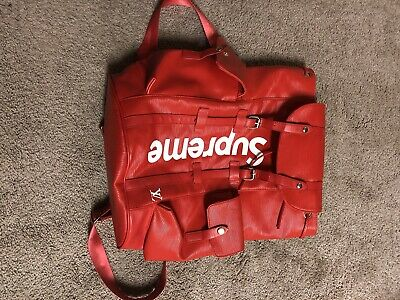 $ CDN394.59 • Buy Louis Vuitton X Supreme Backpack RED