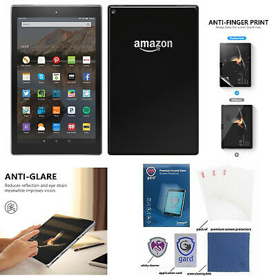 £3.39 • Buy REAL Tempered Glass Screen Protector For AMAZON KINDLE FIRE HD 8 Plus 2020 7 10