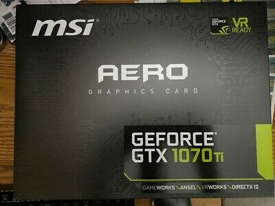 $ CDN390 • Buy GTX 1070 Ti - MSI Aero - Used