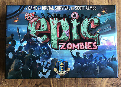 Tiny Epic Zombies Board Game, 1-5 Players, Gamelyn Games • 15£