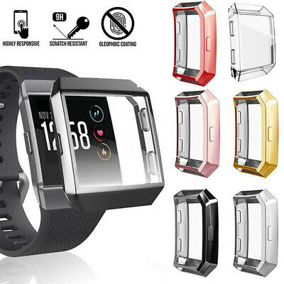$ CDN5.23 • Buy TPU Shell Watch Frame Screen Protector Protective Case For Fitbit Ionic