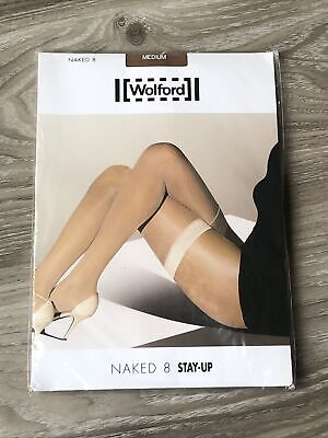 Wolford Naked 8  Stay-up - Size M - NOS • 4.99£