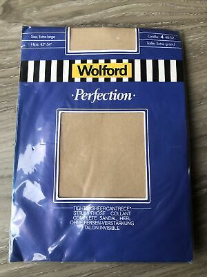 Wolford Perfection  Tights XL - Oyster NOS • 4.99£