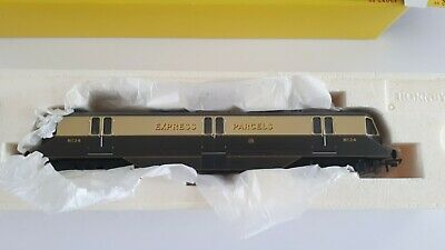 Hornby R2768 GWR Diesel Electric Express Parcels Railcar 34 OO Gauge DCC Ready • 85£