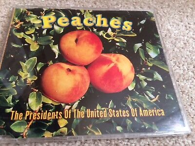 Peaches The Presidents Of The United States Of America Cd Rare Vintage  • 0.99£