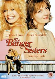 The Banger Sisters DVD 2003 Goldie Hawn & Susan Sarandon Comedy Cert 15 • 0.99£