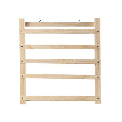 1PC Wooden Earring Necklace Hanging Display Rack Jewelry Organizer Stand Holder • 24.69£