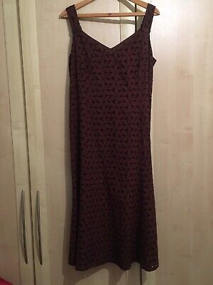 Lovely Brown Dress  Size 18 (Alex & Co) • 4£