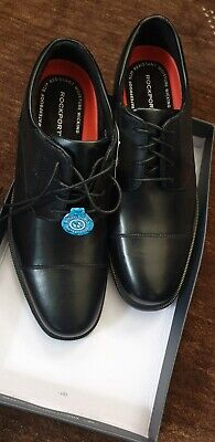 Rockport Mens Shoes BLACK- SIZE  UK 8.5 . BRAND NEW WITH BOX   • 51.99£