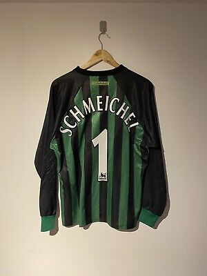 Manchester United Man Utd 1997-98 Goalkeeper Shirt Peter Schmeichel #1 Medium M • 99.99£