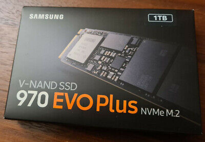 SEALED! - Samsung 970 EVO Plus 1 TB PCIe NVMe M.2 (2280) SSD  • 125£