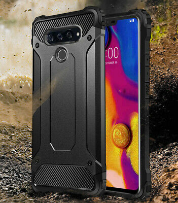 AU13.50 • Buy For LG V40 V50 G6 G7 G8 ThinQ Case Black Cover Heavy Duty Shockproof Armor