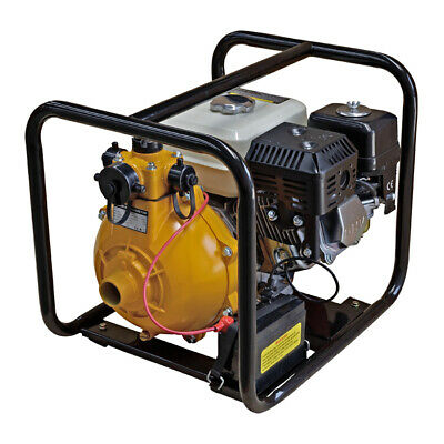 AU385 • Buy 1.5  Twin Impeller Fire Fighting Pump 7HP 4 Stroke Petrol Engine- Electric Start