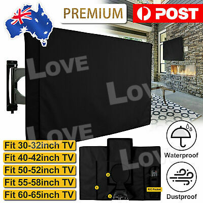 AU19.95 • Buy 30 -65Inch Dustproof Waterproof TV Cover Outdoor Patio Flat Television Protector