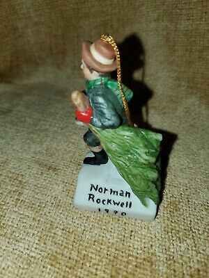 $ CDN7.23 • Buy Norman Rockwell Figurines Dave Grossman The Country Gentleman
