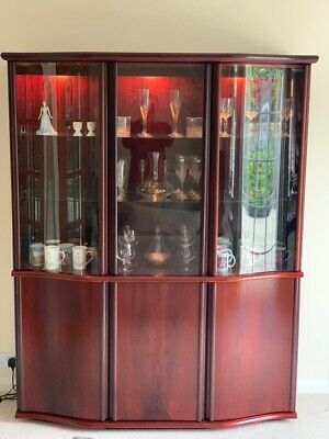Skovby Rosewood Glass Cabinet - Immaculate Condition! • 300£