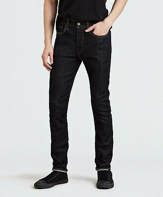 Men's Levi's 519 Dark Blue Wash Skinny Fit Jeans - W34 L32 - Brand New With Tags • 30£