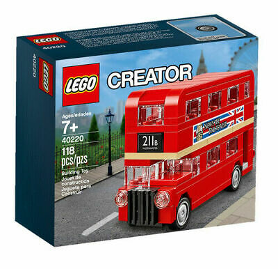 $ CDN34.64 • Buy LEGO 40220 Creator Double Decker London Bus RETIRED BRAND NEW & SEALED BOX Gift