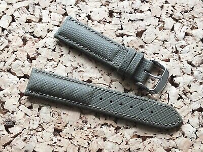 Waterproof Antiallergic German Leather Watch Strap 22mm Olive Green By Geckota • 4.39£