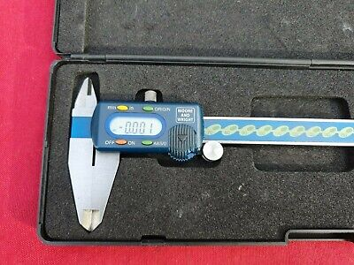 Moore & Wright 200mm/8  Digital Vernier In Very Good Used Condition Boxed • 70£
