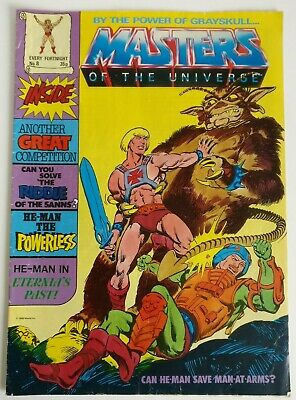 $15.37 • Buy Masters Of The Universe UK Comic No 8 By The Power Of Grayskull - 1986