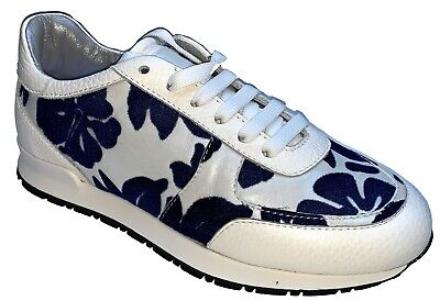 ~ Joshua Sanders Lace Up Sneakers Trainers Casual Womens Ladies Shoes Made Italy • 39.99£