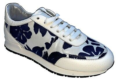 / Joshua Sanders Lace Up Sneakers Trainers Casual Womens Ladies Shoes Made Italy • 39.99£