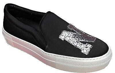 . Joshua Sanders Slip On Sneakers Trainers Casual Womens Ladies Shoes Made Italy • 49.99£
