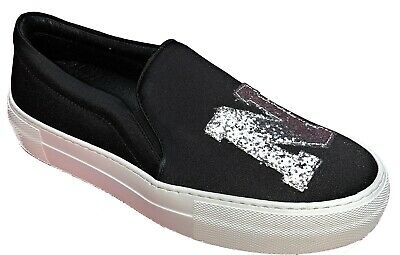 = Joshua Sanders Slip On Sneakers Trainers Casual Womens Ladies Shoes Made Italy • 49.99£