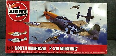 Airfix 1/48 North-American P-51D Mustang # A05138 • 20£