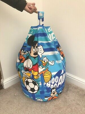 £29.99 • Buy Beanbag Filled Mickey Mouse Blue Multi Coloured Toddler / Kids Child's New