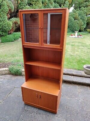 G Plan Display Cabinet Bookcase Cupboard • 17.20£