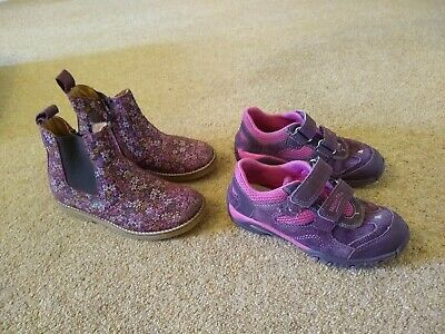 Froddo Girls Size 30 / UK 11 Ankle Boot And Superfit Trainers • 4£