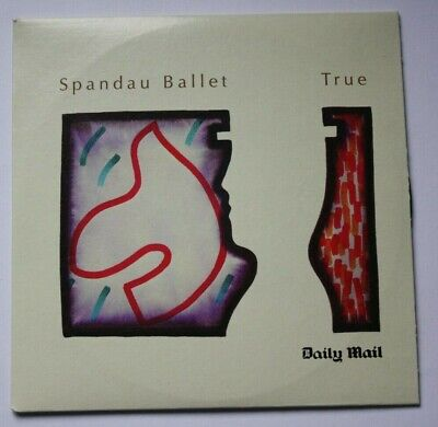 Spandau Ballet True  8 Track  CD Daily Mail Promotion • 0.49£
