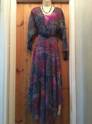 Bnwt Joe Browns Day Wear Print Midi  Dress Size 16 • 12£
