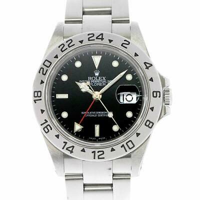 $ CDN10366.53 • Buy ROLEX Explorer II 16570 Serial P Date Automatic Black Dial Mens 90107987