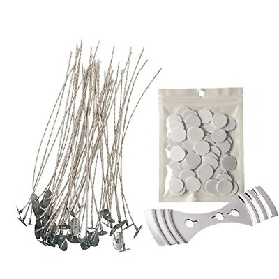 Homankit Candle Making Kit | 100 Pieces X 15cm Pre Soy Waxed Wicks With Tabs, 1 • 11.68£