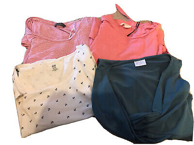 Maternity Tops Bundle Size 12 - 14 H&M Next And Blooming Marvellous • 7.30£