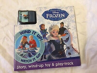 £8.90 • Buy Disney Frozen Book - Story, Wind-up Toy & Play-Track