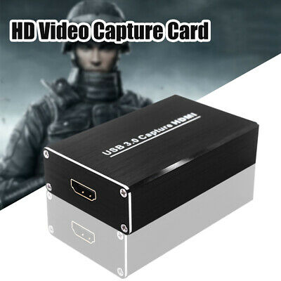 Plug And Play HDMI USB3.0 HD Video Capture Card Portable Recorder Live Streaming • 32.10£