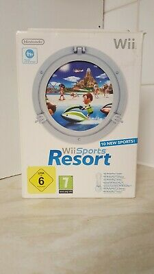 Wii SPORTS RESORT MOTION PLUS PACK IN BOX • 11.50£