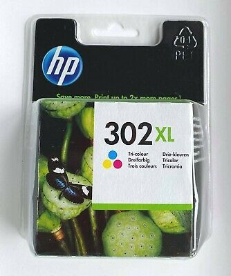 HP 302 XL Tri-colour Ink Cartridge Genuine * New & Sealed * • 8.50£
